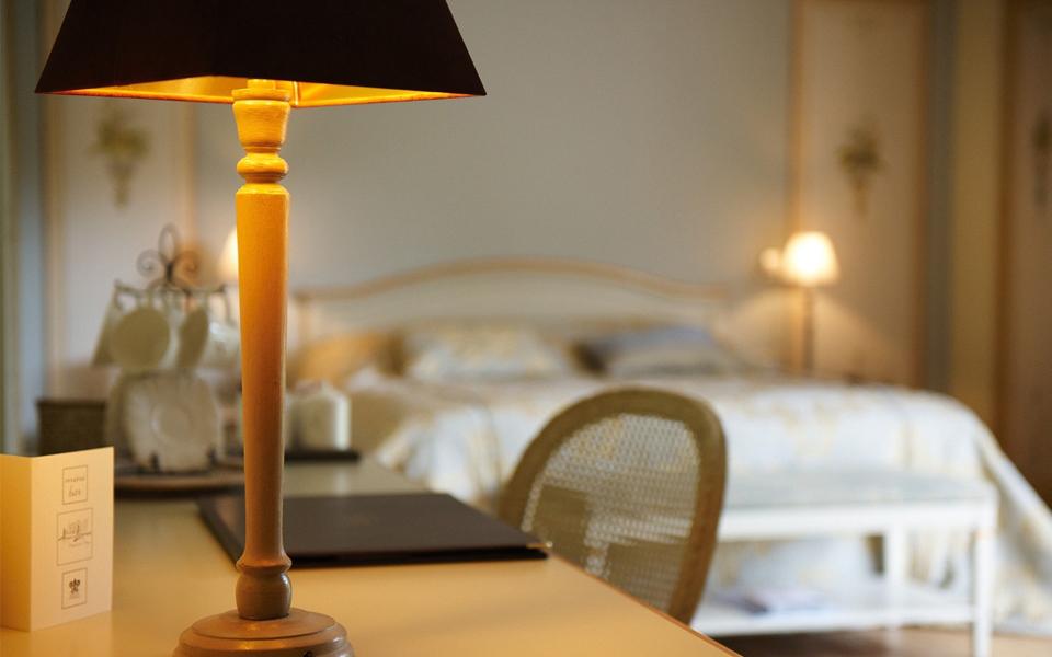 Chambres de l'hostellerie Lafarques