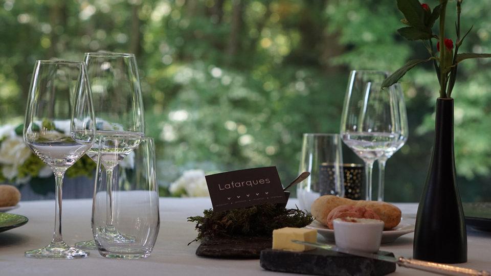 Restaurant de l'hostellerie Lafarques